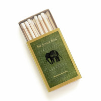 The Jungle Book Matchbox - Rudyard Kipling - Decorative Matchbox - Hostess Gift - Apartment Decor - Tiny Gift - Light a Fantastic Spark