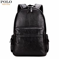 School Backpacks for kids for college Leather