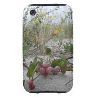 Wild Berries on the Beach Tough iPhone 3 Cover