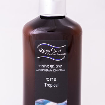Royal Sea Dead Sea minerals bath and body works aromatherapy body cream tropical 250ml/8.45oz