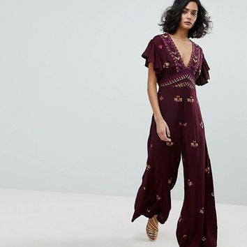 Free People Cleo Ember Jumpsuit at asos.com