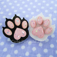 Kittens Have Claws Acrylic Pin (Pick One) Cute Cat Bean Toes