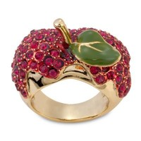 Disney Villains Red Crystal Poisoned Apple Snow White Ring by Disney Couture | Jewelry | Disney Store