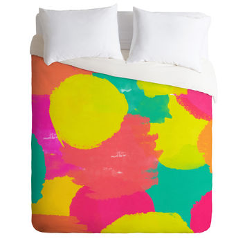 Rebecca Allen Oh Happy Day Duvet Cover