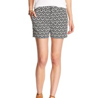Banana Republic Womens Factory Jacquard Short