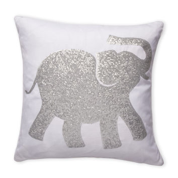 Sequin Elephant Throw Pillow : Shop Sequin Throw Pillow on Wanelo