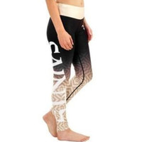 New Orleans Saints Womens Gradient Print Leggings