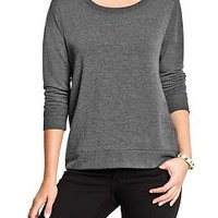 Women's Lightweight Terry-Fleece Tops