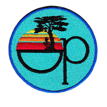 Vintage 80's Style Op Surfing Surfer Shit Patch Badge for Cap Hat 8cm