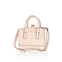 River Island Womens Pink mini frame bag