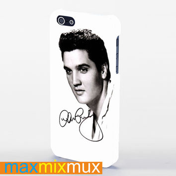 Celebrities Elvis Presley iPhone 4/4S, 5/5S, 5C Series Full Wrap Case