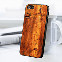 Wooden Print iPhone 5 Or 5S Case