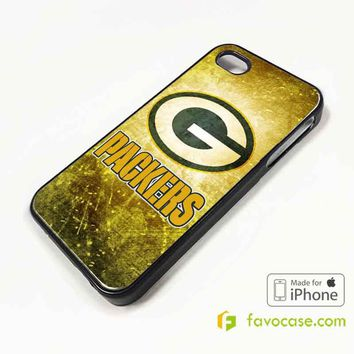 GREEN BAY PACKERS Football Team NFL iPhone 4/4S 5/5S/SE 5C 6/6S 7 8 Plus X Case Cover