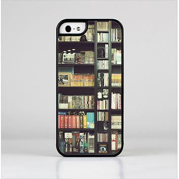 The Vintage Bookcase V2 Skin-Sert for the Apple iPhone 5-5s Skin-Sert Case