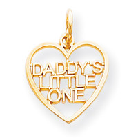 10k DADDY'S LITTLE ONE CHARM 10C676