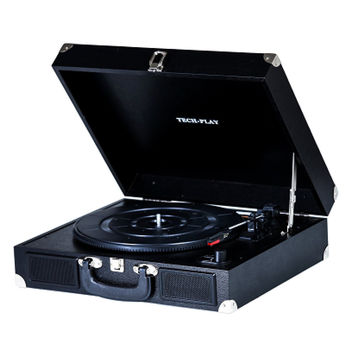 TechPlay Portable suitcase 3 Speed Turntable