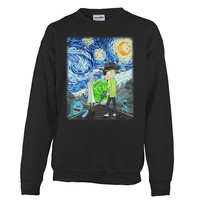 Rick And Morty - Van gogh - Unisex Sweatshirt T Shirt - SSID2016