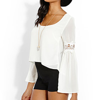 Flow With It Crochet Blouse