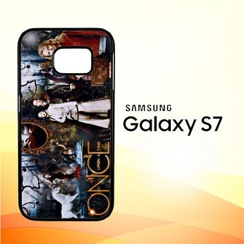 once upon a time wallpaper Y0852 Samsung Galaxy S7 Case