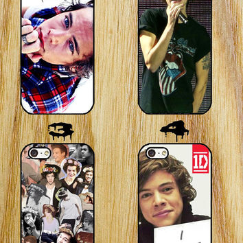 Harry Styles Collage One Direction iPhone 4/4S/5/5S/5C/6 Samsung Galaxy S3/S4/S5 custom case
