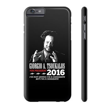 Aliens for president Phone Case