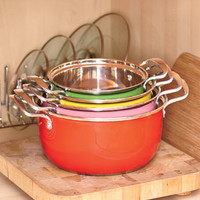 Colorful 8-Pc. Cookware Set