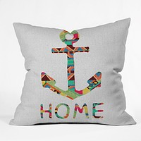 Bianca Green You Make Me Home Throw Pillow