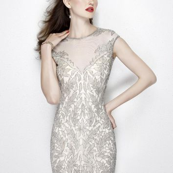 Primavera Couture - 1930 Beaded Sheath Cocktail Dress