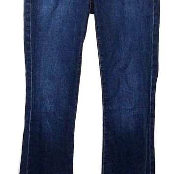 Adriano Goldschmied AG The Club Flare Jeans Dark Wash Size 25 Womens 26 x 32 - Preowned
