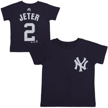 Derek Jeter New York Yankees Infant Player Name and Number T-Shirt – Navy Blue - http://www.shareasale.com/m-pr.cfm?merchantID=7124&userID=1042934&productID=547712618 / New York Yankees