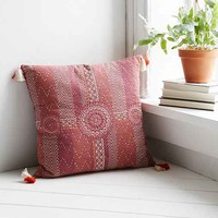 Magical Thinking Suraja Kantha Pillow- Pink One