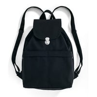 BAGGU Canvas Backpack Black