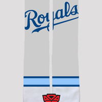 Kasnas City Royals - Major League Baseball - Custom Socks - Socktimus Prime