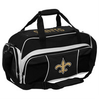 New Orleans Saints NFL Tuck Sport Gym Bag (Black)
