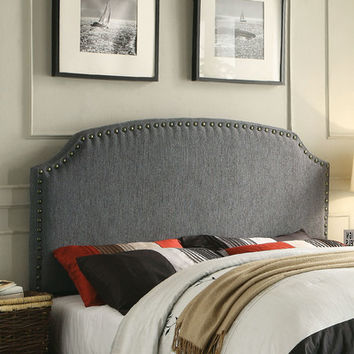 Three Posts Coleshill Upholstered Panel Headboard & Reviews | Wayfair