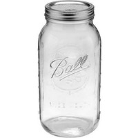 Ball 6-Count Wide Mouth 64-Ounce Jars with Lids and Bands - Walmart.com