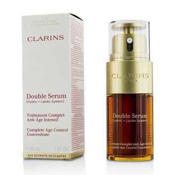 Double Serum (Hydric + Lipidic System) Complete Age Control Concentrate - 30ml-1oz