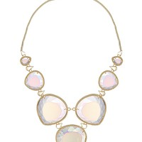 Rebecca Statement Necklace in Clear Iridescent - Kendra Scott Jewelry