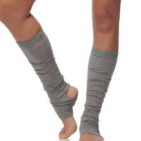 Black Yoga Leg Warmers - Women Dance and Yoga Socks -Dance and Yoga Accessory - Dance Yoga Socks