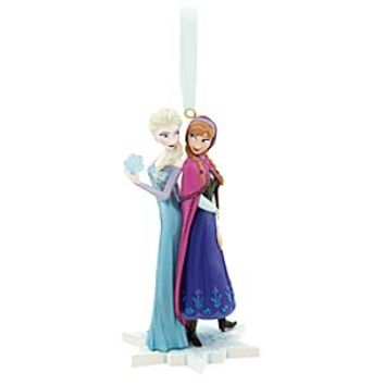 Anna and Elsa Ornament - Frozen | Disney Store