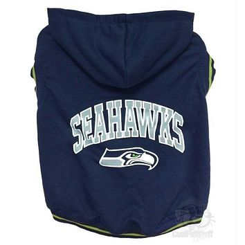 Seattle Seahawks Pet Hoodie Sweatshirt