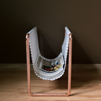 Magazine and newspaper rack