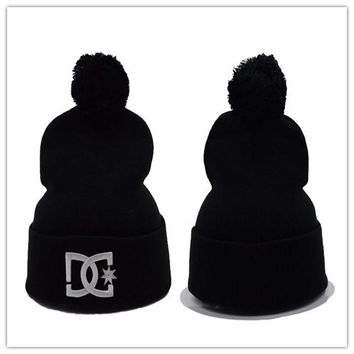 Perfect DC Women Men Embroidery Knit Hat Beanies Cap Hat