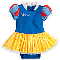 Snow White Bodysuit Costume Set for Baby - Personalizable