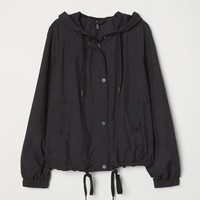 Hooded Jacket - Black - Ladies | H&M US