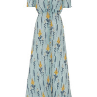 Embroidered Short Sleeve Dress | Moda Operandi