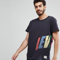 Levi's Mighty Wrap Around Logo T-Shirt in Black at asos.com