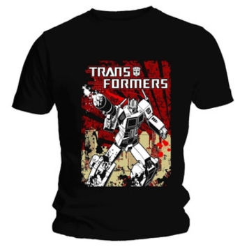 Transformers Optimus Prime Siege Officially Licensed Adults T shirt