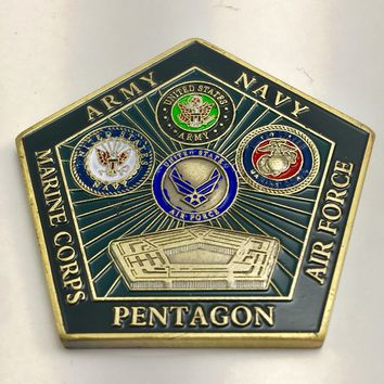 United States Department of Defense Pentagon Challenge Coin
