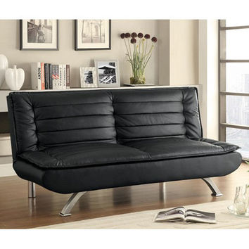 Channeled Pillow Sofa Bed